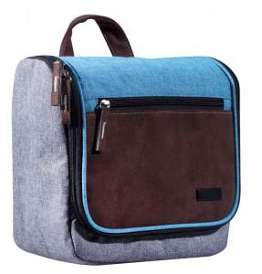 Packenger Designer – Kulturbeute, Kosmetiktasche, Toilet Bag Washy aus der Serie Modern Denim