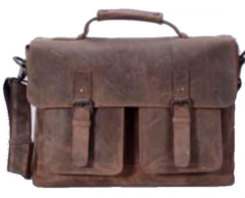 Packenger Kolbjorn Umhängetasche mit Notebook-Fach bis 15 Zoll, Unisex