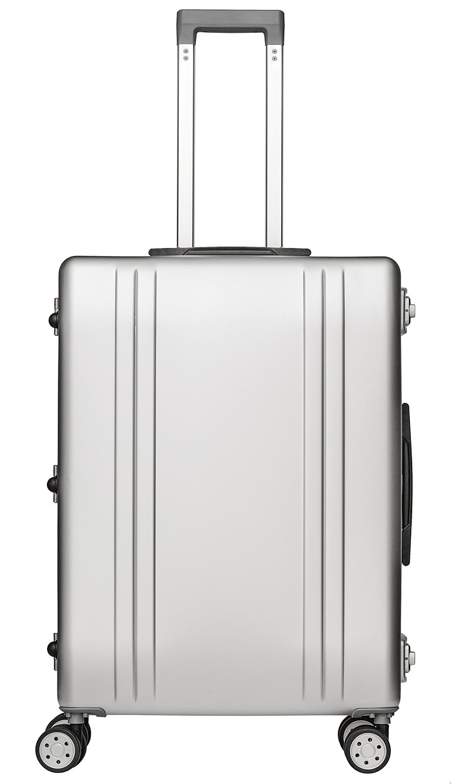 Packenger Alu Reisekoffer mit integriertem TSA-Schloss