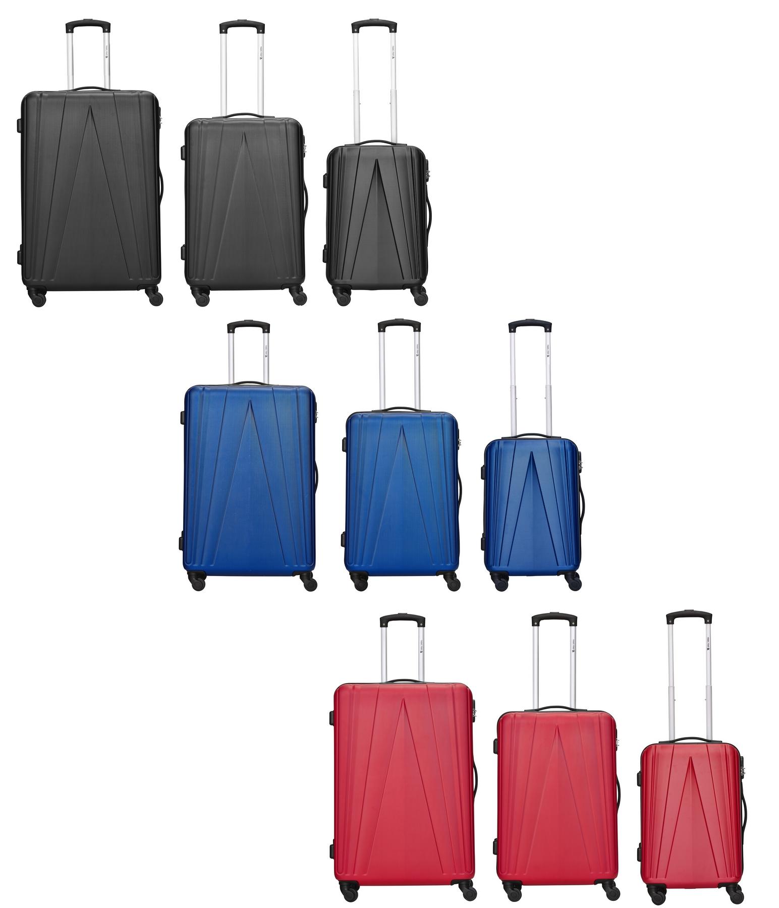 Travelfirst Spacestar Kofferset verschiedene Farben